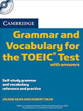 Cambridge Grammar and Vocabulary for the TOEIC Test: Paperback with answers and Audio CDs